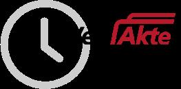 Das Logo der WebAkte von e.Consult AG